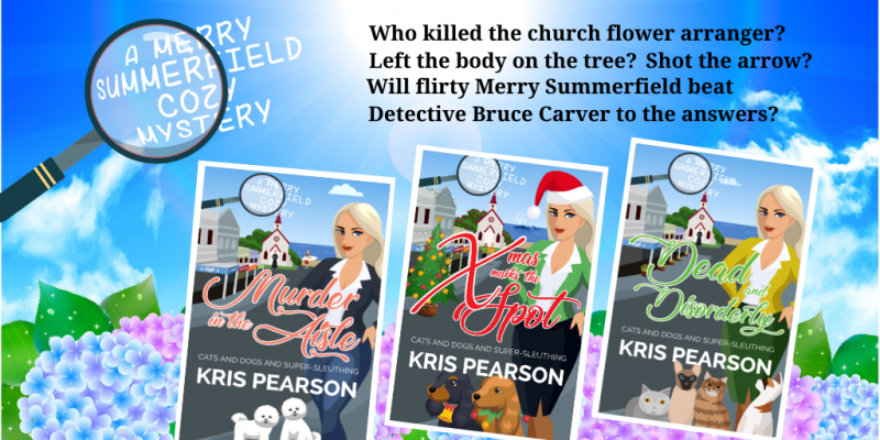 Kris Pearson's 3 Merry Summerfield covers