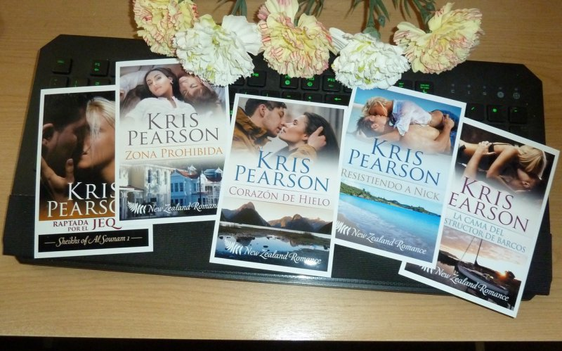 Kris Pearson - five Spanish covers